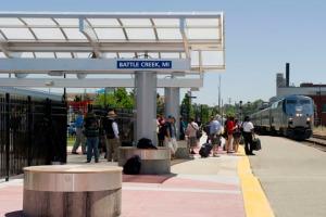 Grand Re-Opening Of The Battle Creek Intermodal Transportation Center