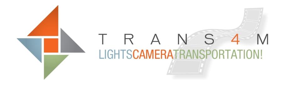 lights camera transportation logo