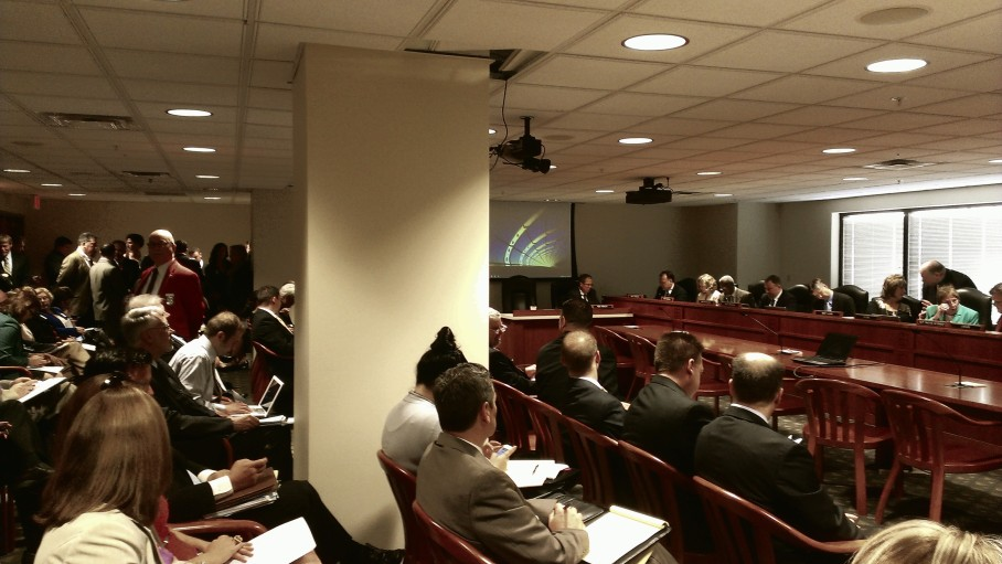 A packed house for a packed agenda at the June 4 House Committee on Transportation and Infrastructure Meeting