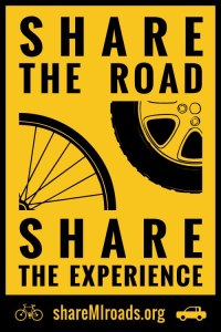 Share MI Roads Logo