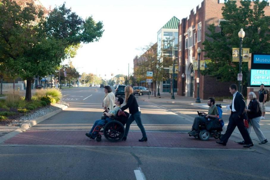 Pedestrian Odyssey