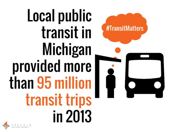 #TransitMatters 95 Million Trips