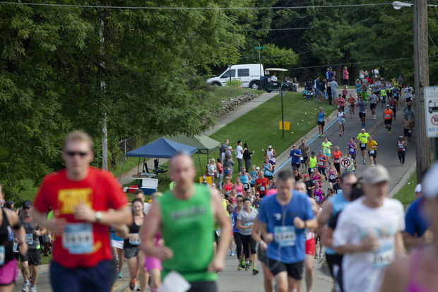 Participants take on the 2014 Crim Festival of Races in Flint. Photo Courtesy of MLive Laura McDermott
