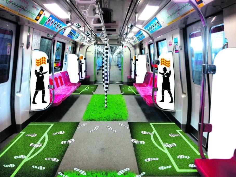 Singapore Theme Train