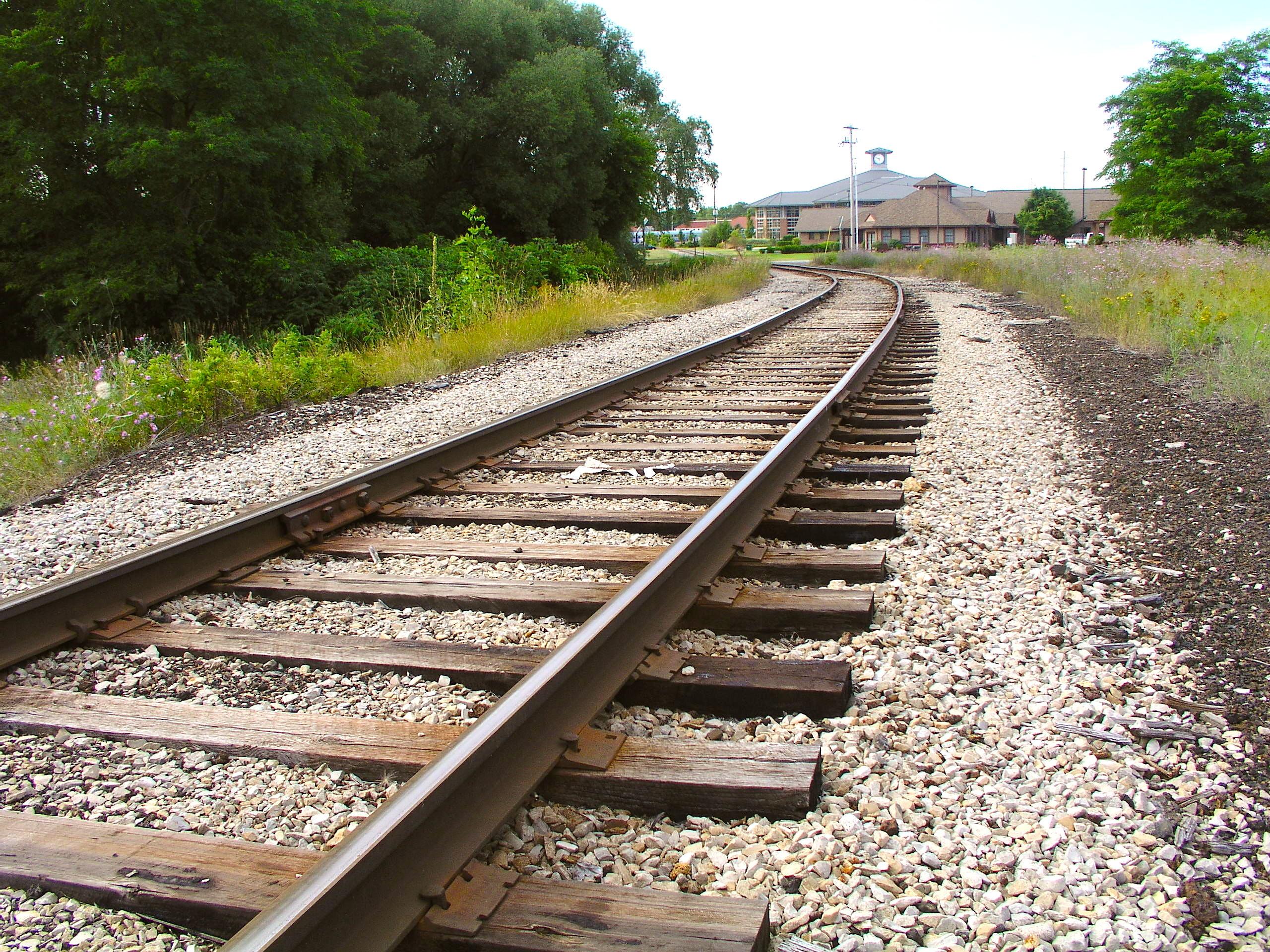 Tracks Near Depot