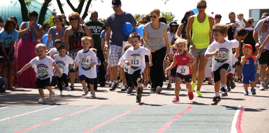 The Kids Classic race in 2014. The 2015 Teddy Bear Trot is part of the Festival of Races and begins Saturday, August 22 at  noon.