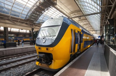 Amsterdam intercity rail